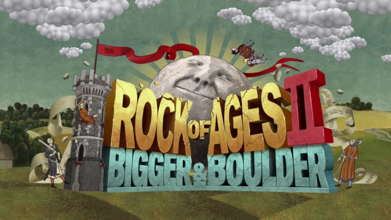 Rock of Ages 2: Bigger & Boulder looks wild