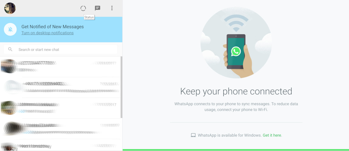 Whatsapp Web And Desktop Now Supports The New Status Feature