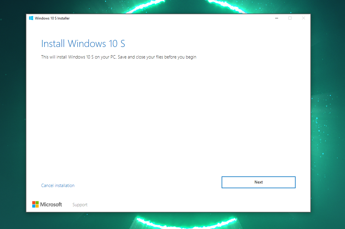 Microsoft makes it easier for users to try Windows 10 S on