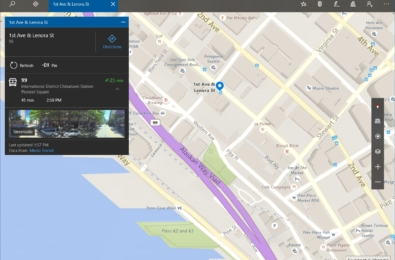 Windows Maps updated for Insiders with two new features 10