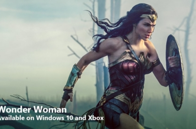 Wonder Woman in 4K now on sale at the Windows Store 11