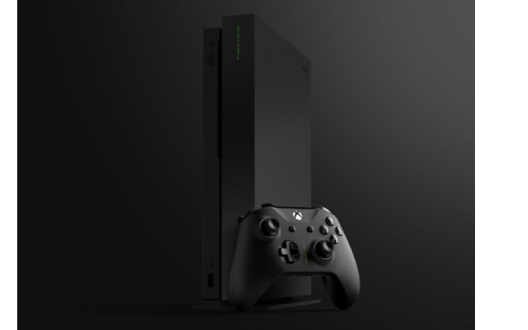 The first unboxing of the Xbox One X Project Scorpio edition
