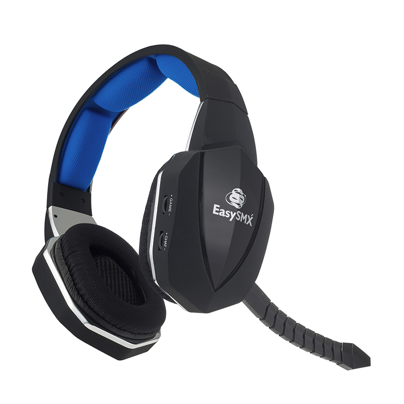 31cfb1579dd When you look at EasySMX's 398M 2.4G Wireless Multifunctional Gaming Headset,  it looks like any other unit. It's made of lightweight plastic and soft ...