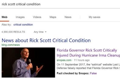 "Microsoft Bing adding ""Fact Check"" label to help users spot fake news 3"