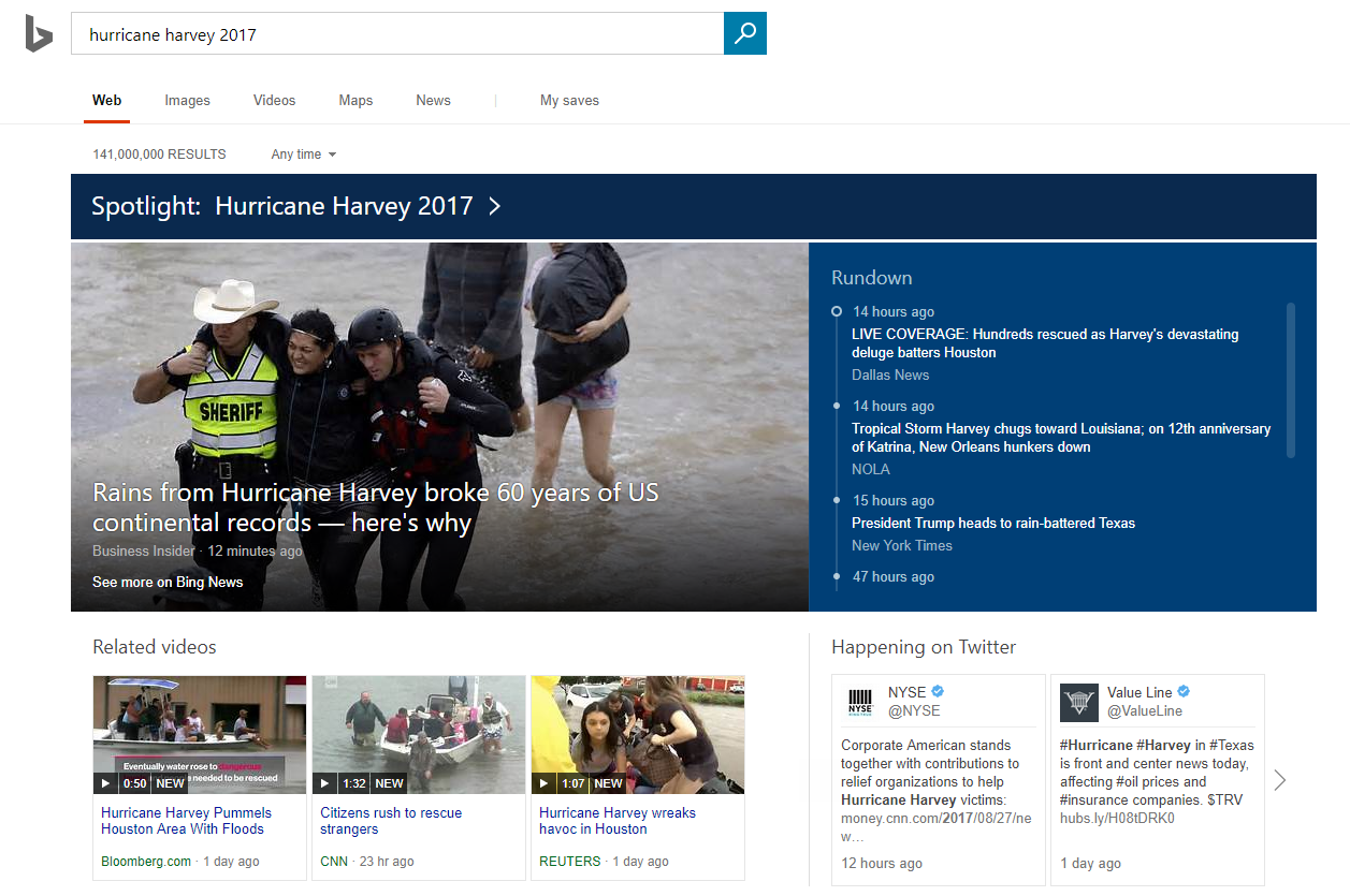 Bing battles Google News with its own make-over 1