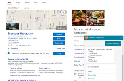Microsoft will soon allow advertisers to add chat bots on Bing search results 13