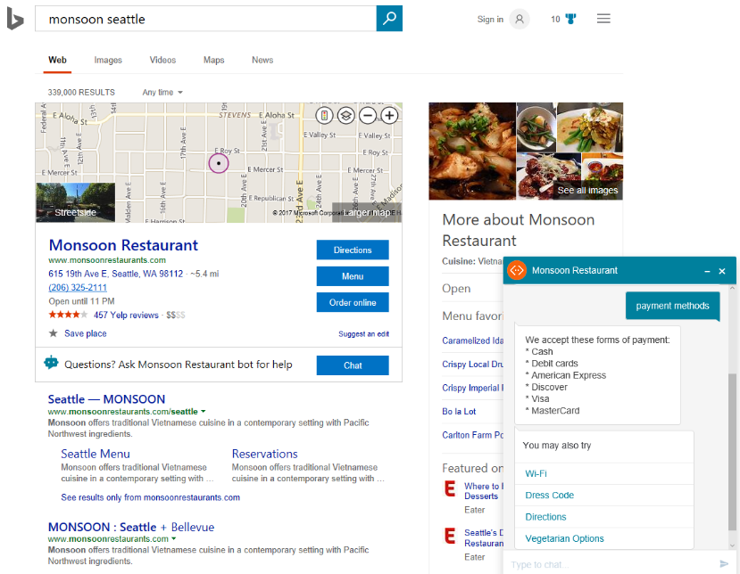 Microsoft will soon allow advertisers to add chat bots on Bing search results 1