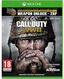 Call of Duty: WWII will support 4K resolution and HDR on Xbox One X