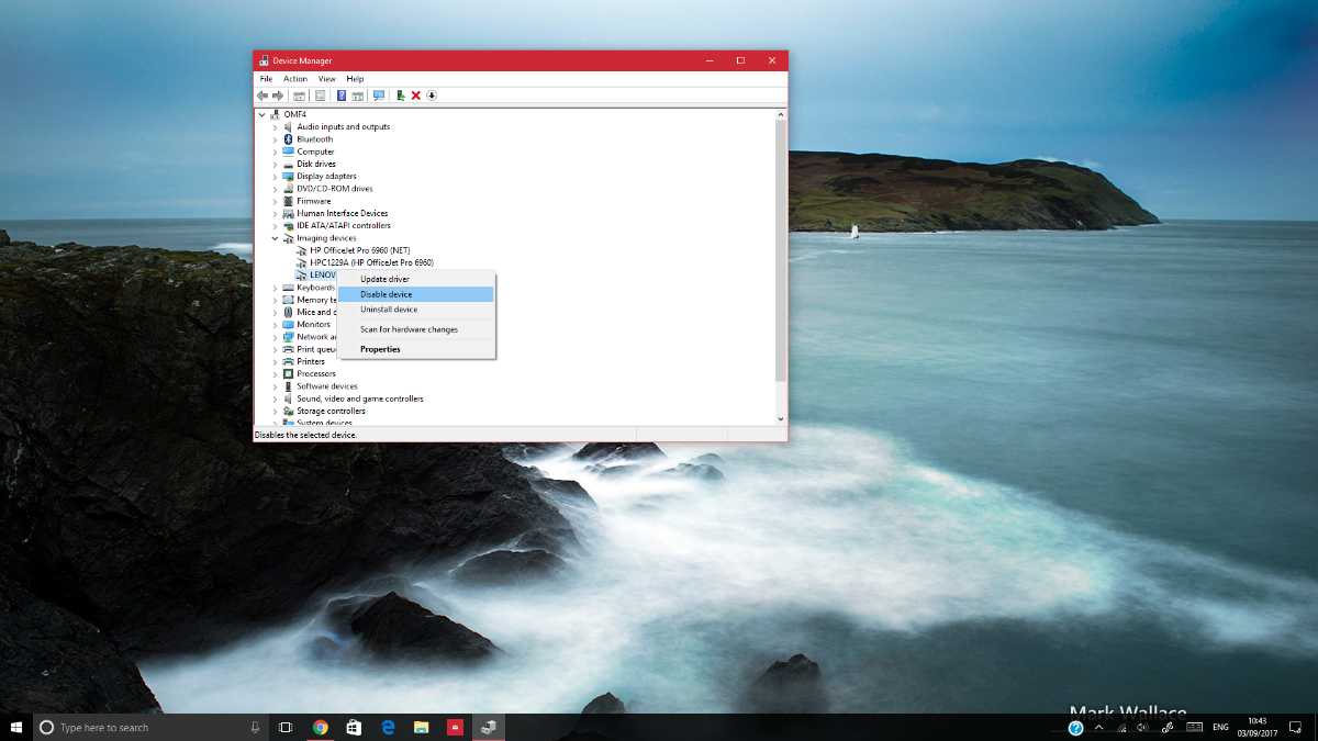 How to disable the webcam and microphone on your Windows PC