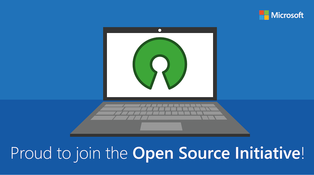 Microsoft's love for open source software continues, joins the Open Source Initiative 1