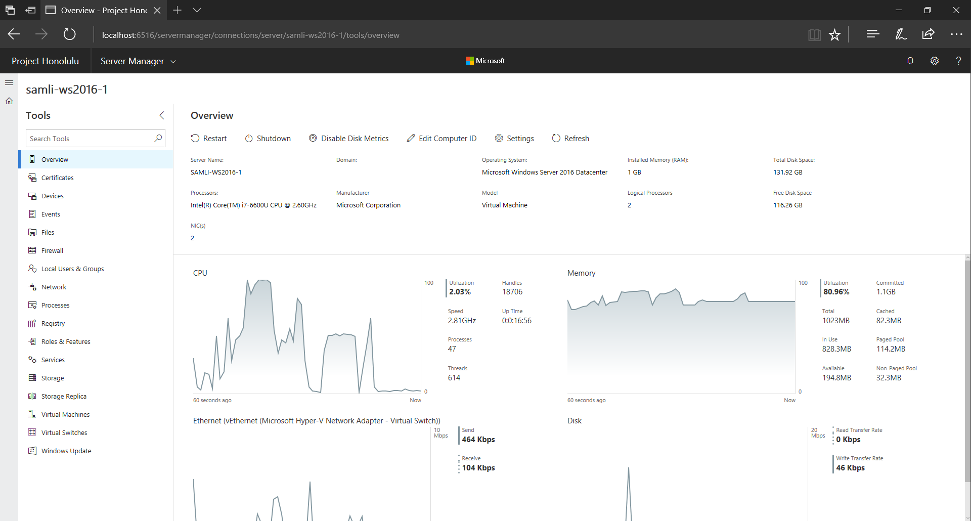 Microsoft's browser-based Windows Server management tool now available for Insiders