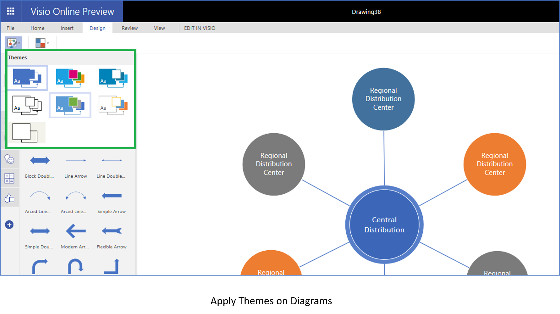 visio online which is in public preview allows anyone to create edit and share diagrams through any web browser based on the feedback from users - Ms Visio Online Free