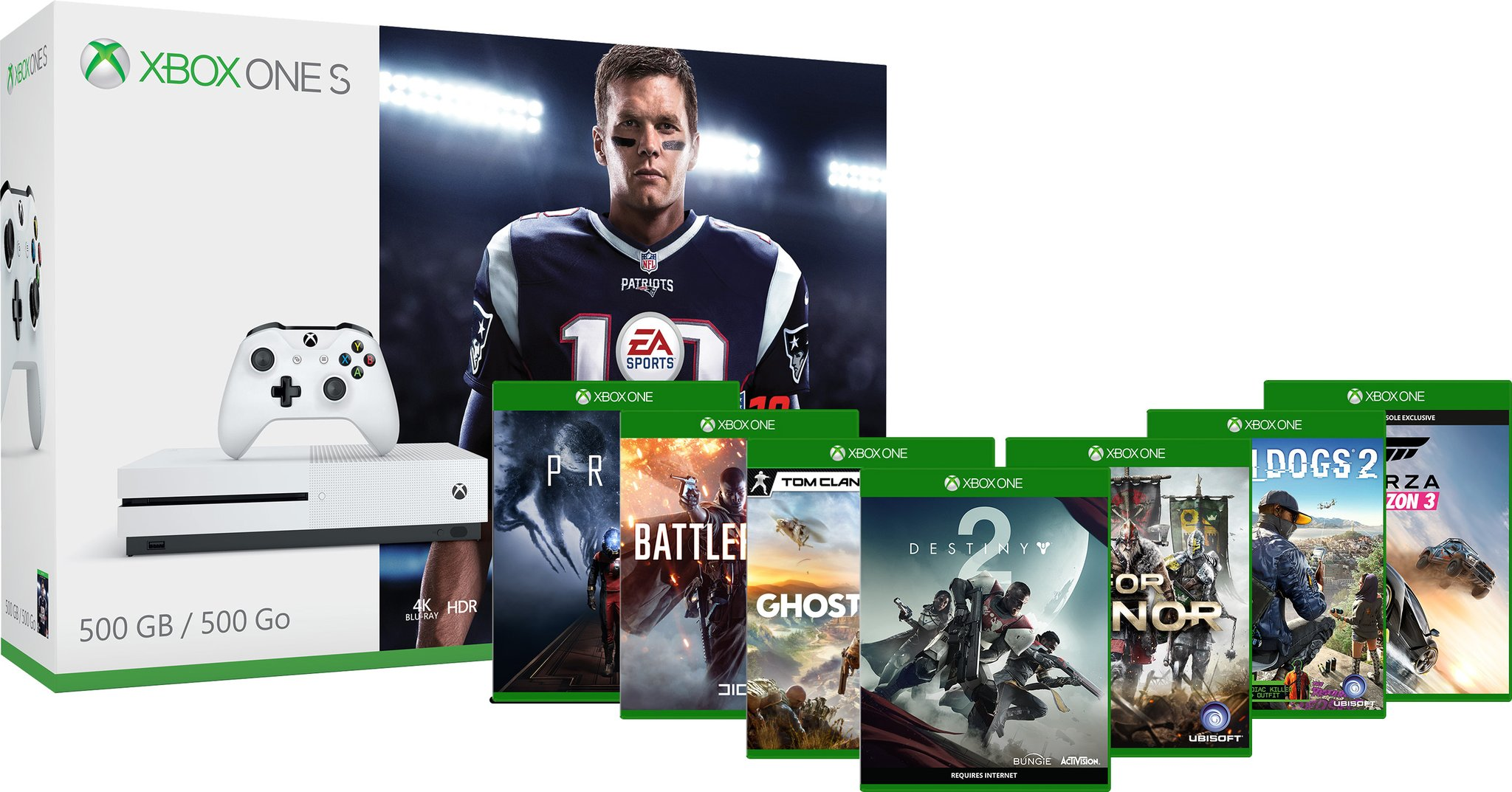 Last Day: Get 2 free games and 3 months of Groove Music with Xbox One S bundles 1