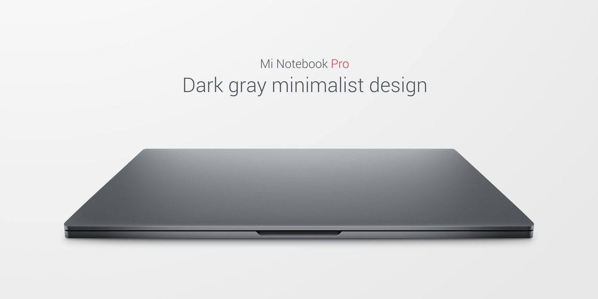 Xiaomi Introduces Mi Notebook Pro With Up To 8th Gen Intel