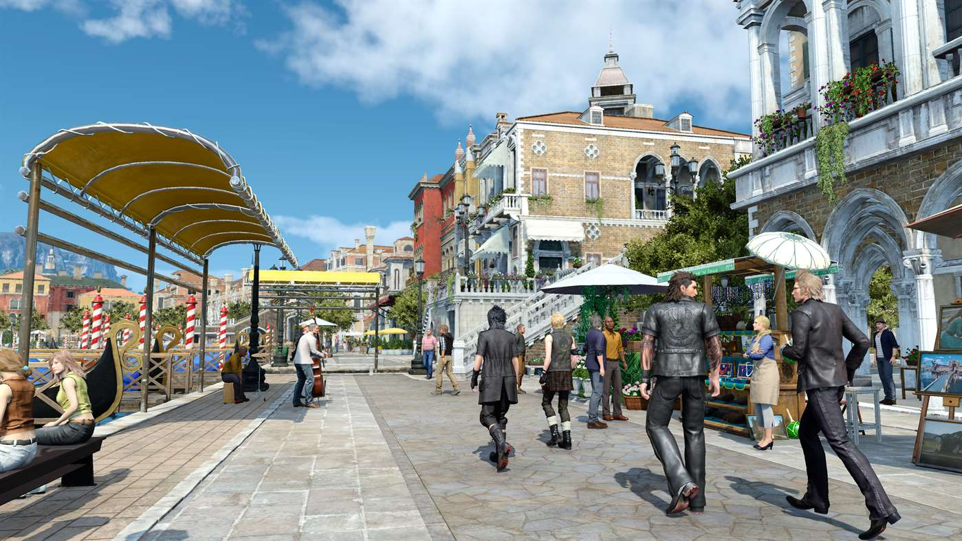 Minutes Of Pocket Final Fantasy XV Gameplay Video Revealed