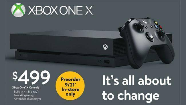 Regular Xbox One X Preorders May Go Live This Week Mspoweruser