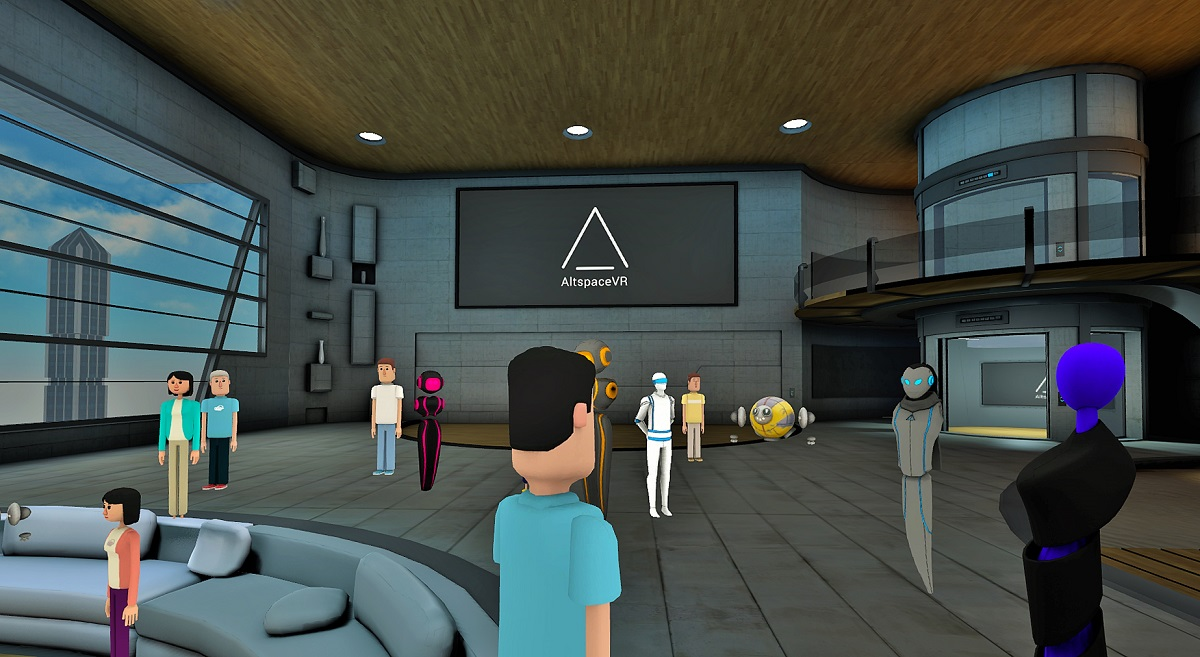 The Windows Mixed Reality Cliff House to get social in the future 3