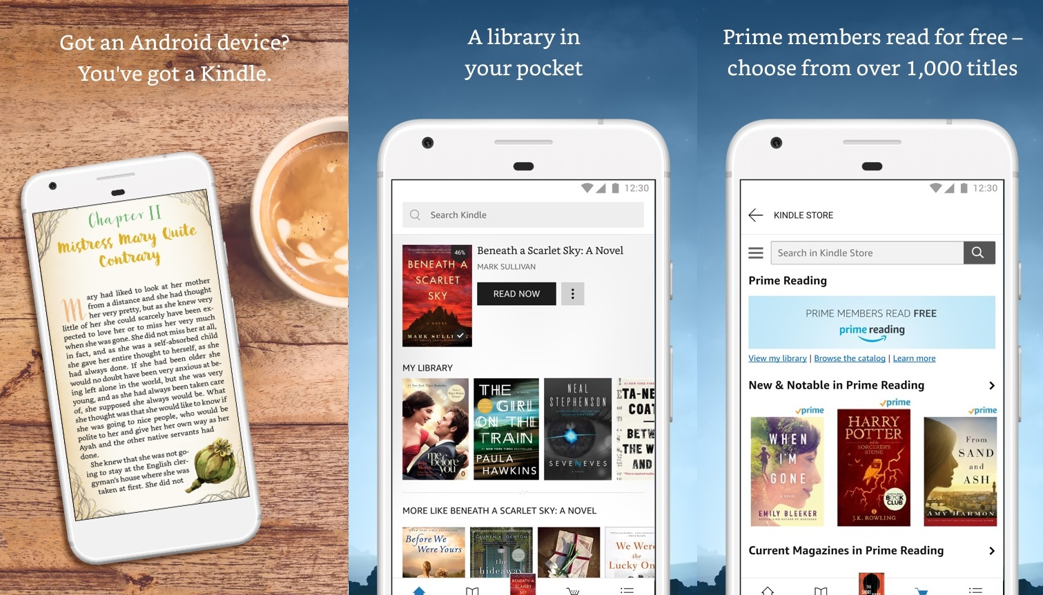 Amazon releases the all-new Kindle app for mobile devices ... - photo#9