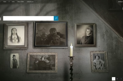 Check out Bing's Halloween home page experience 1