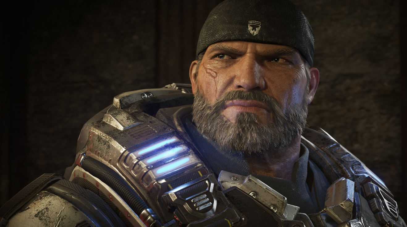 gears of war 4 enhanced for the xbox one x with true 4k. Black Bedroom Furniture Sets. Home Design Ideas