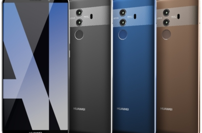 The Huawei Mate 10 and Mate 10 Pro will be sold at Microsoft Stores from February 19