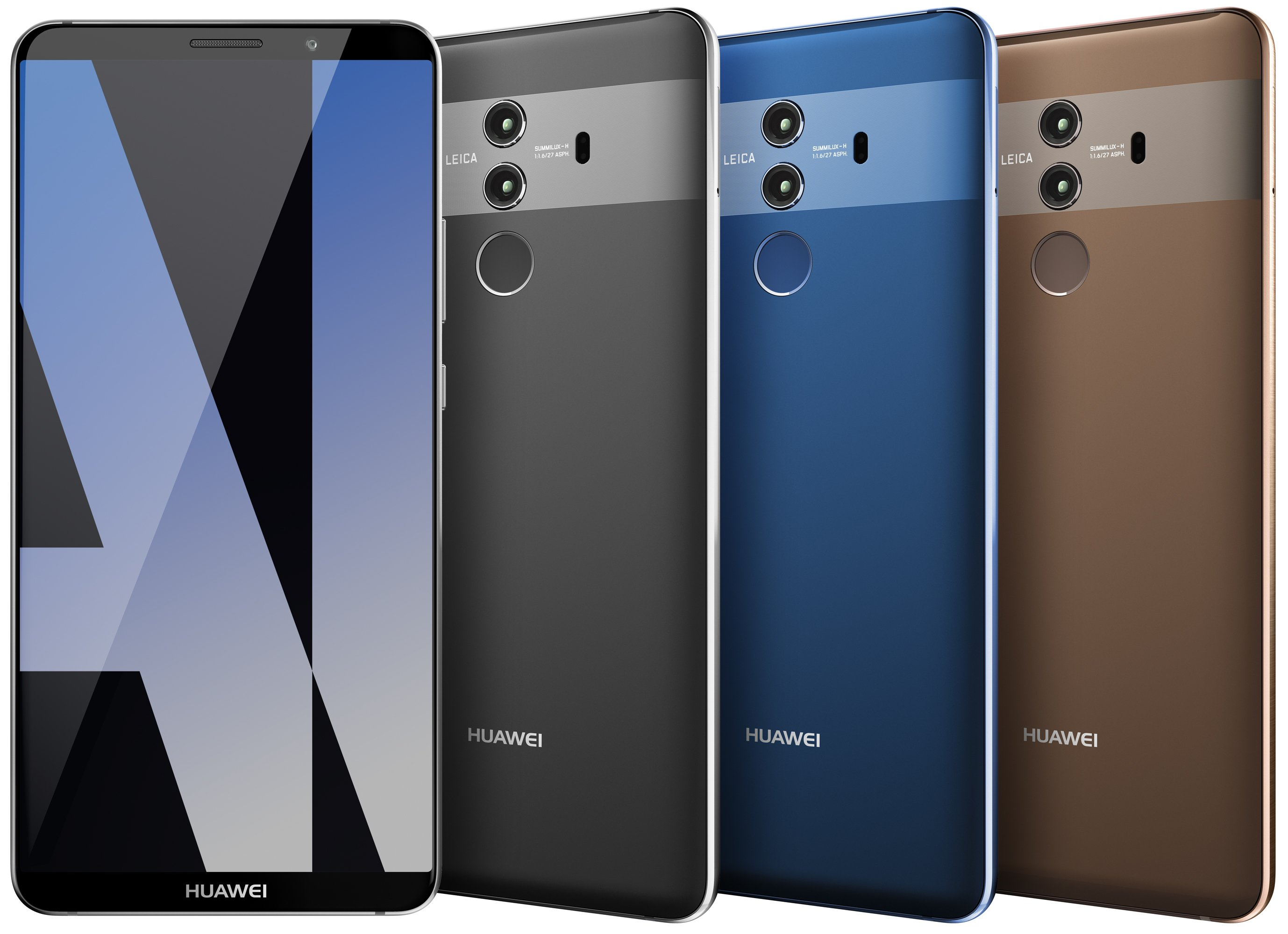 The Huawei Mate 10 and Mate 10 Pro will be sold at Microsoft