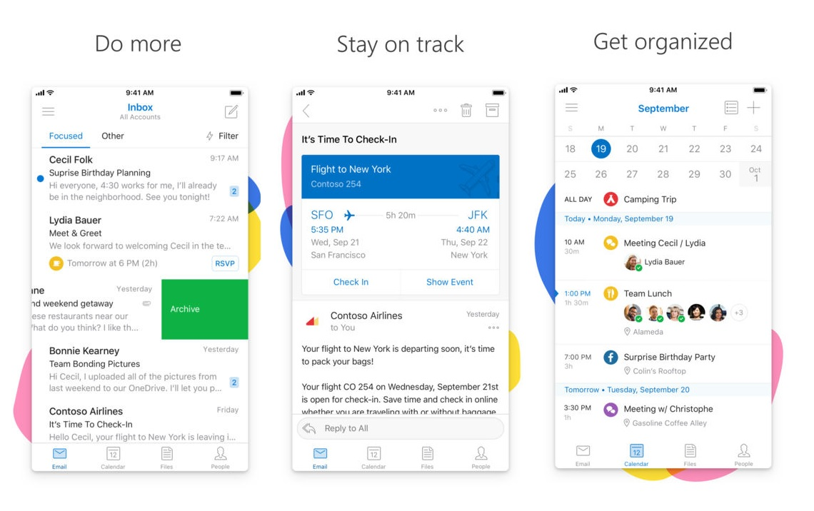 Outlook for iOS updated with iPhone X support