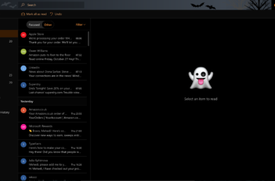 Outlook.com gets ready for Halloween 39