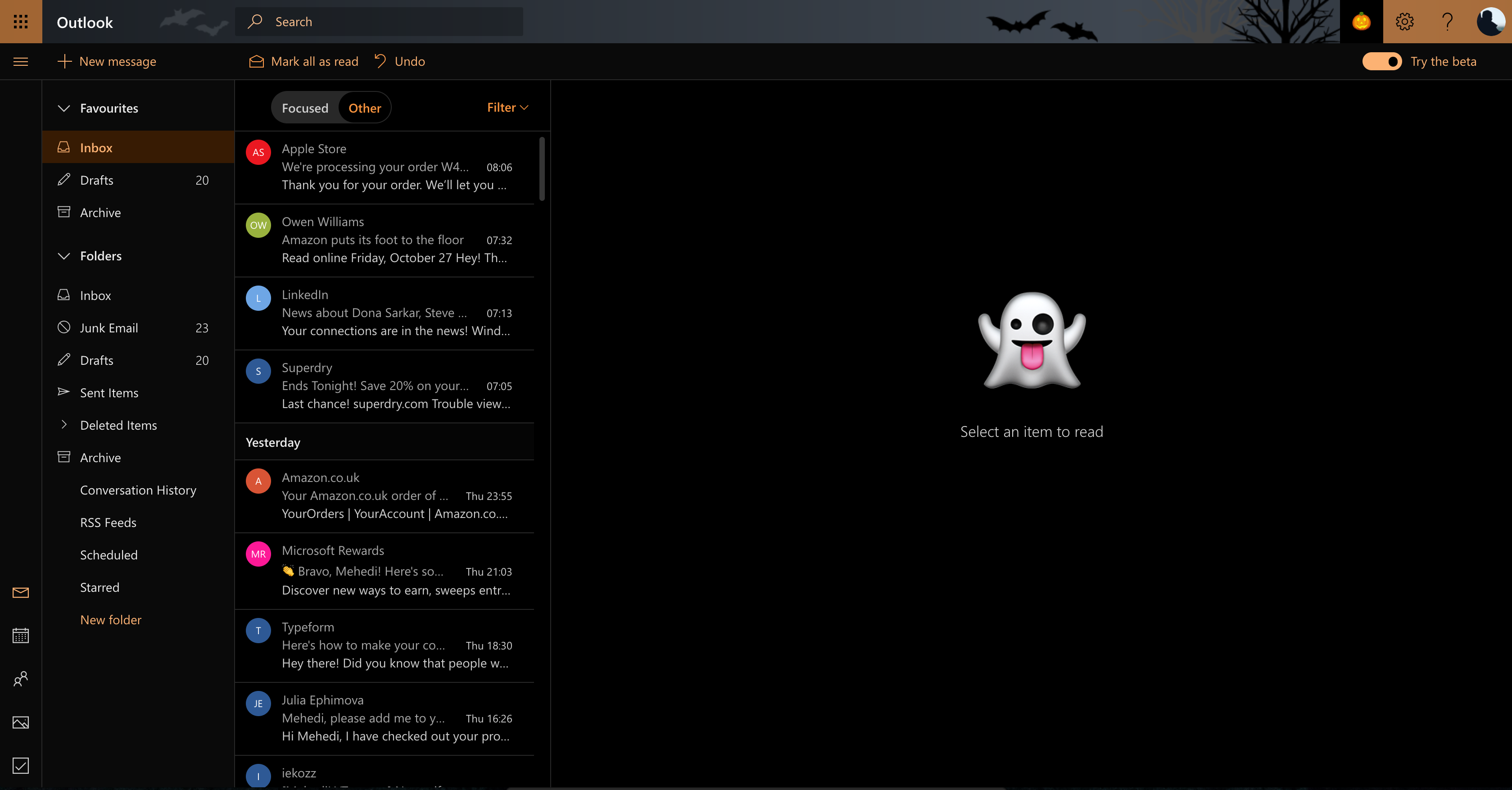 while we will obviously get more seasonal themes like the halloween theme in the