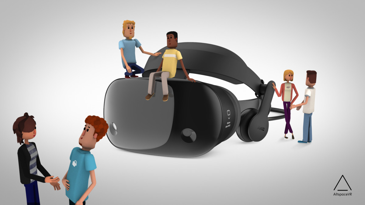 Microsoft's AltSpaceVR Mixed Reality community app now available in the Microsoft Store