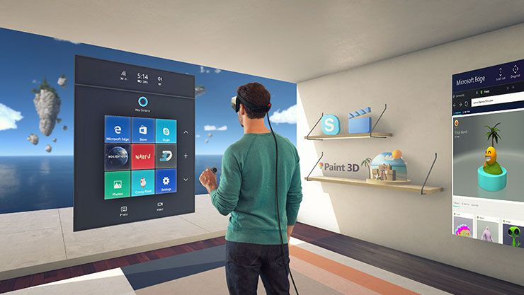The Windows Mixed Reality Cliff House to get social in the future 2