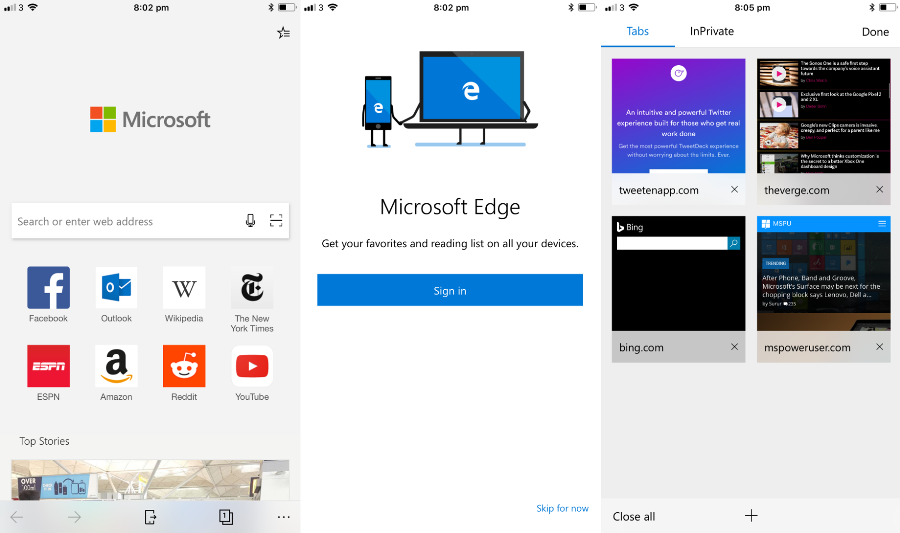 Microsoft Edge updated with battery life improvements on the