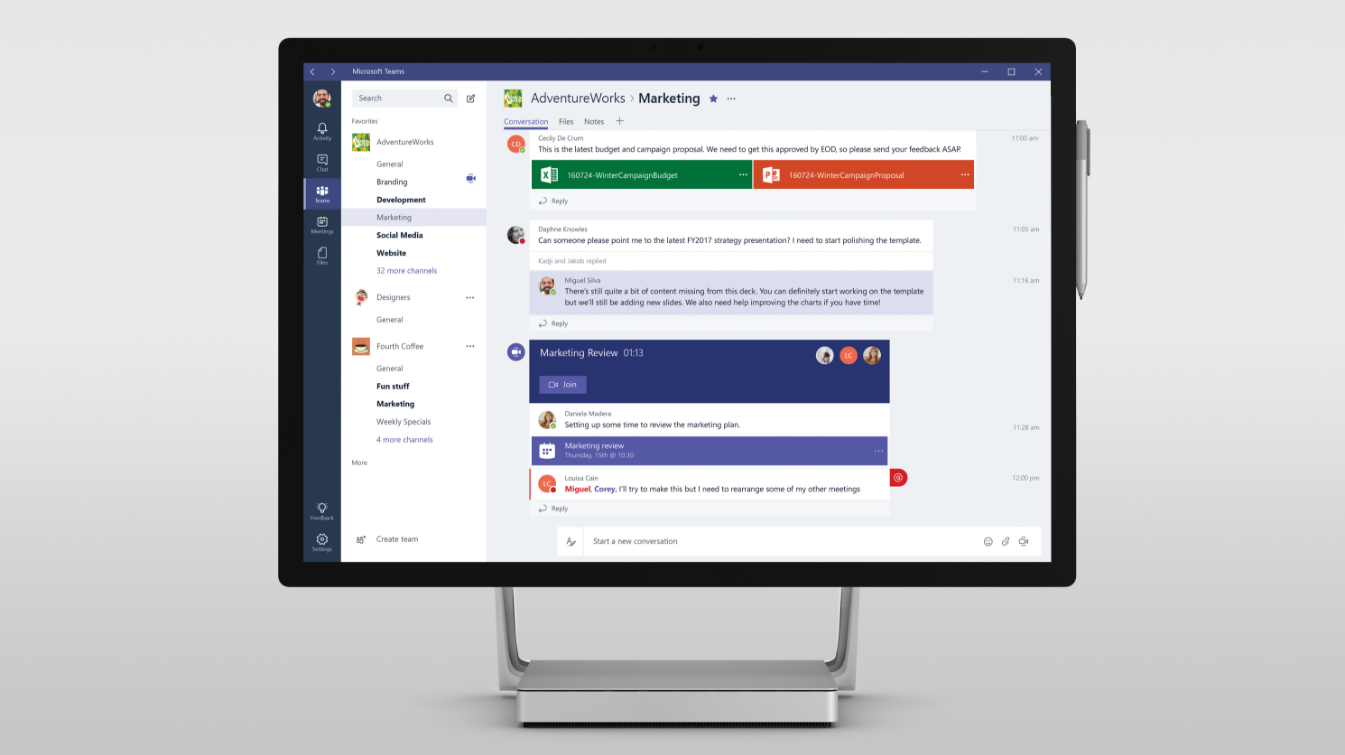 Microsoft Teams updated with new app gallery, improved search and command shortcuts 1
