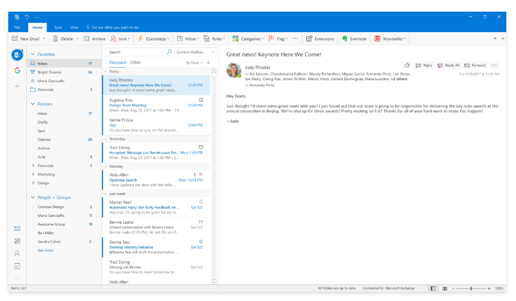 Microsoft Is Working On A Beautiful New Redesign For The Outlook