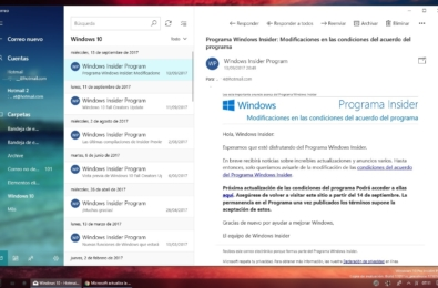 Outlook Mail app for Windows 10 gets UI improvements in Release Preview Ring 1