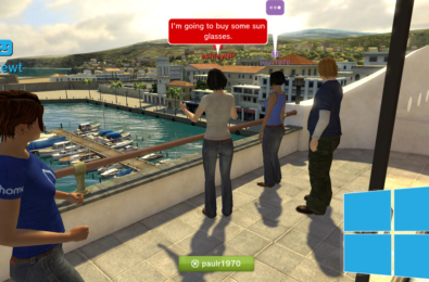 The Windows Mixed Reality Cliff House to get social in the future 5