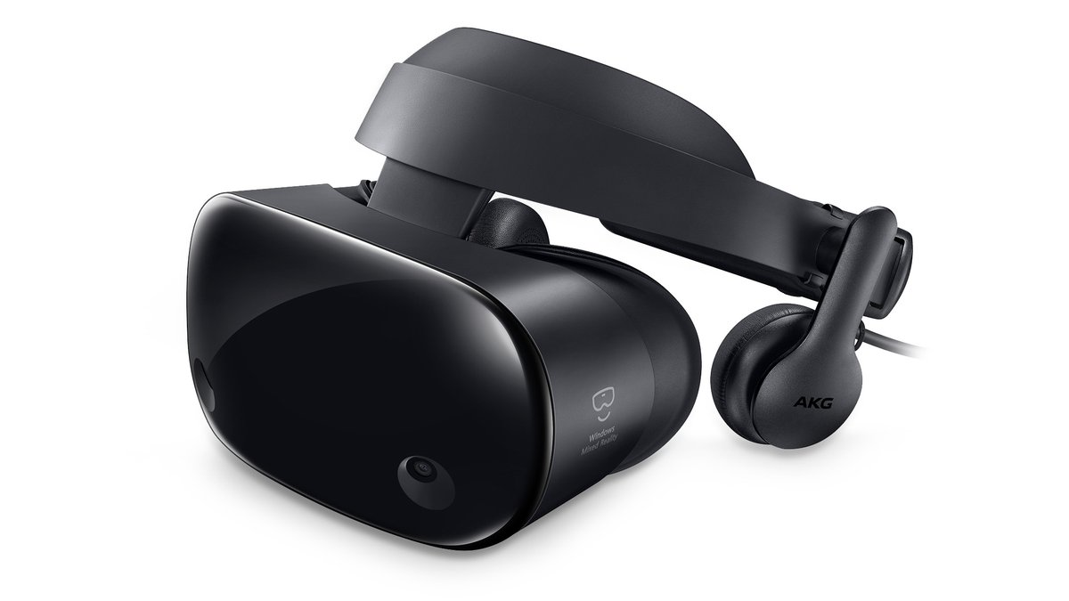 Samsung HMD Odyssey brings spatial audio to Windows Mixed Reality