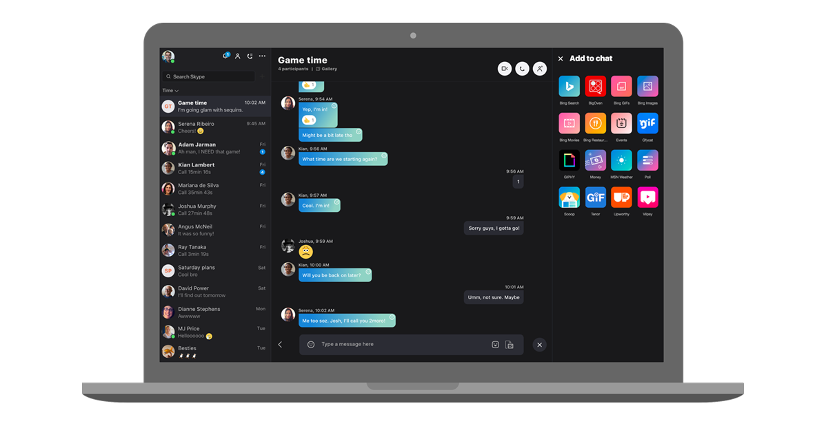 Skype's chat-focused desktop redesign is available to everyone