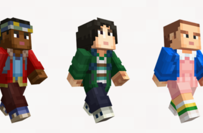 Minecraft meets Stranger Things in new skin pack available now 9