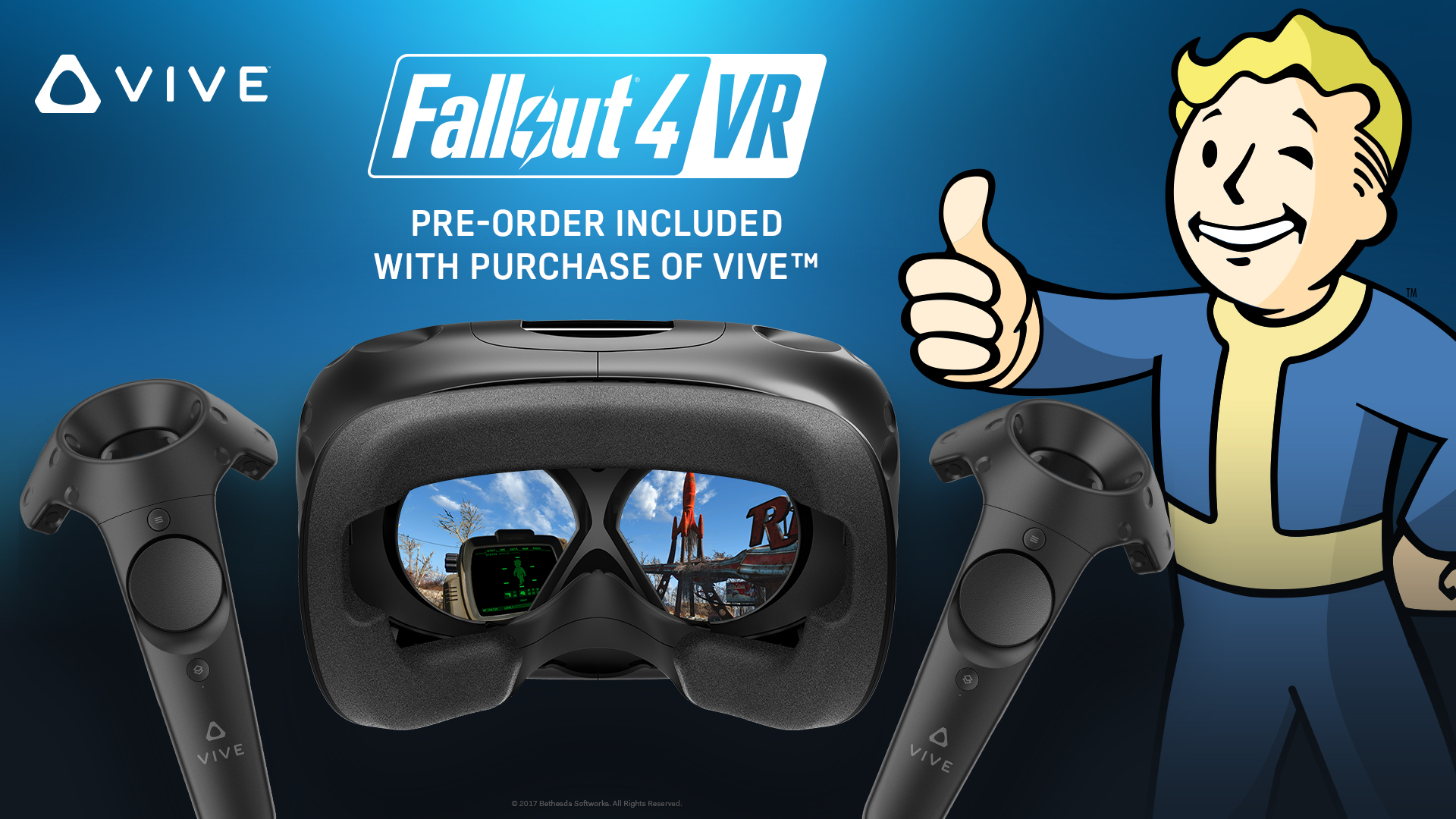HTC now giving away Fallout 4 VR for free with new Vive