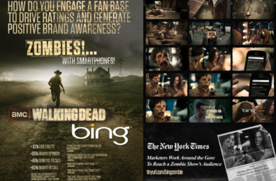 Microsoft buys micro-ads on The Walking Dead 19