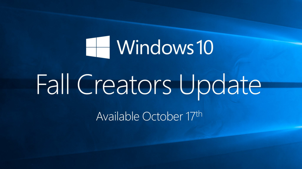 Microsoft is now rolling out Windows 10 Fall Creators Update to public