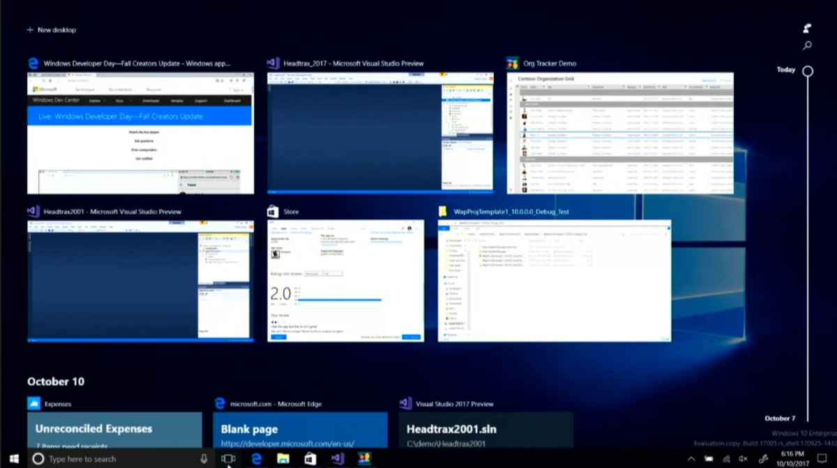Windows 10 Timeline Aktivieren
