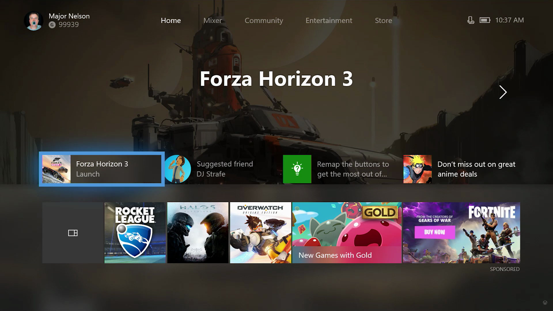 New Xbox One update Adds The