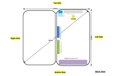 ZTE's folding smartphone pass through FCC 7