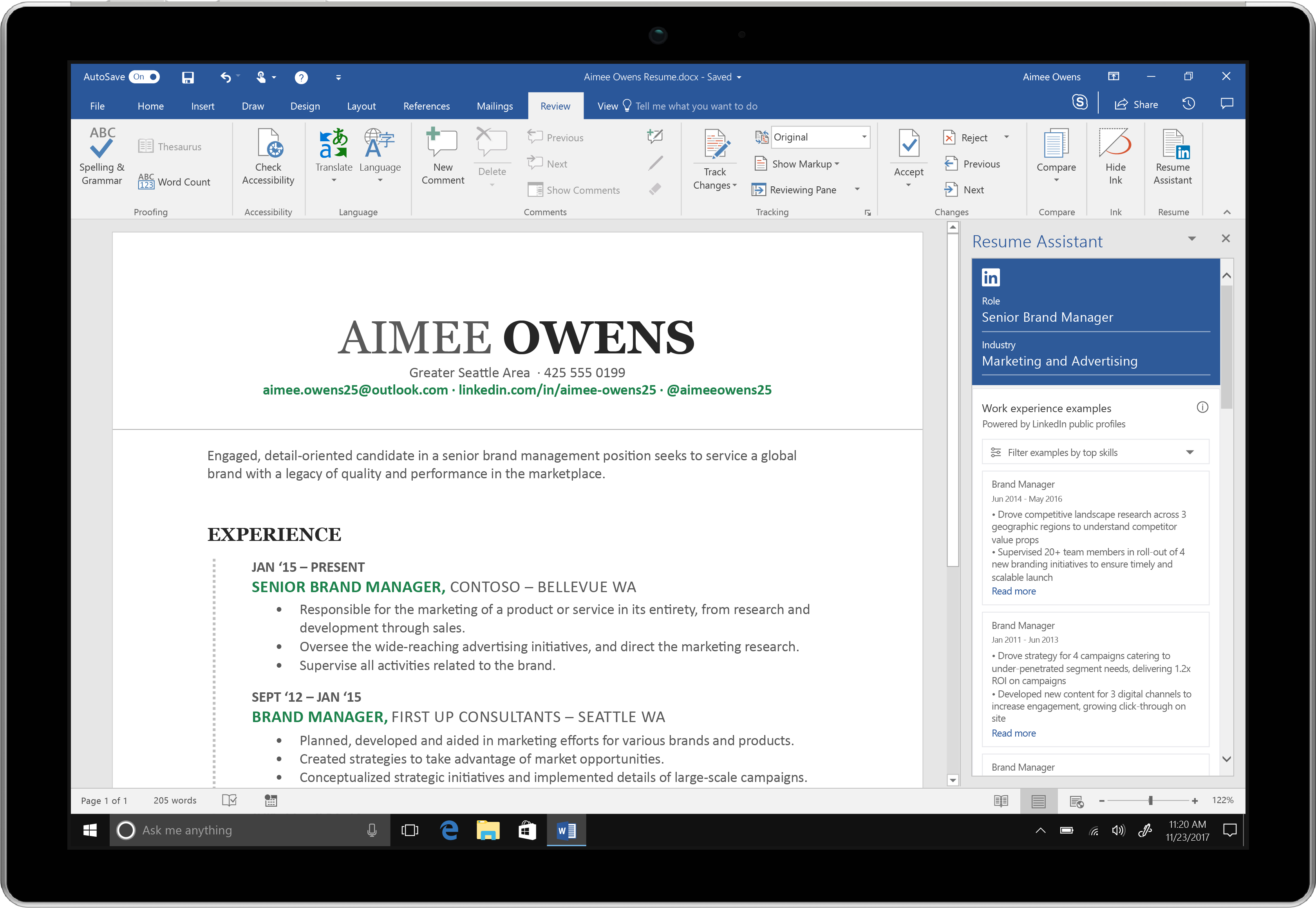 office insiders can now use their voice to write documents