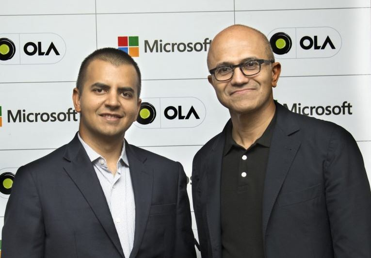 Ola, Microsoft Come Together to Build 'Connected Vehicle Platform' for Car Manufacturers