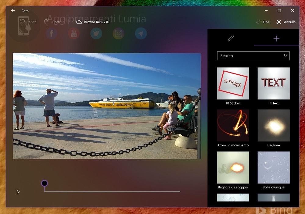 Latest Microsoft Photos app update also hides Remix 3D