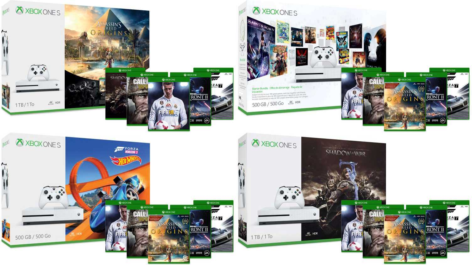 Xbox One Games On Sale : Deal buy an xbox one s bundle and get two additional