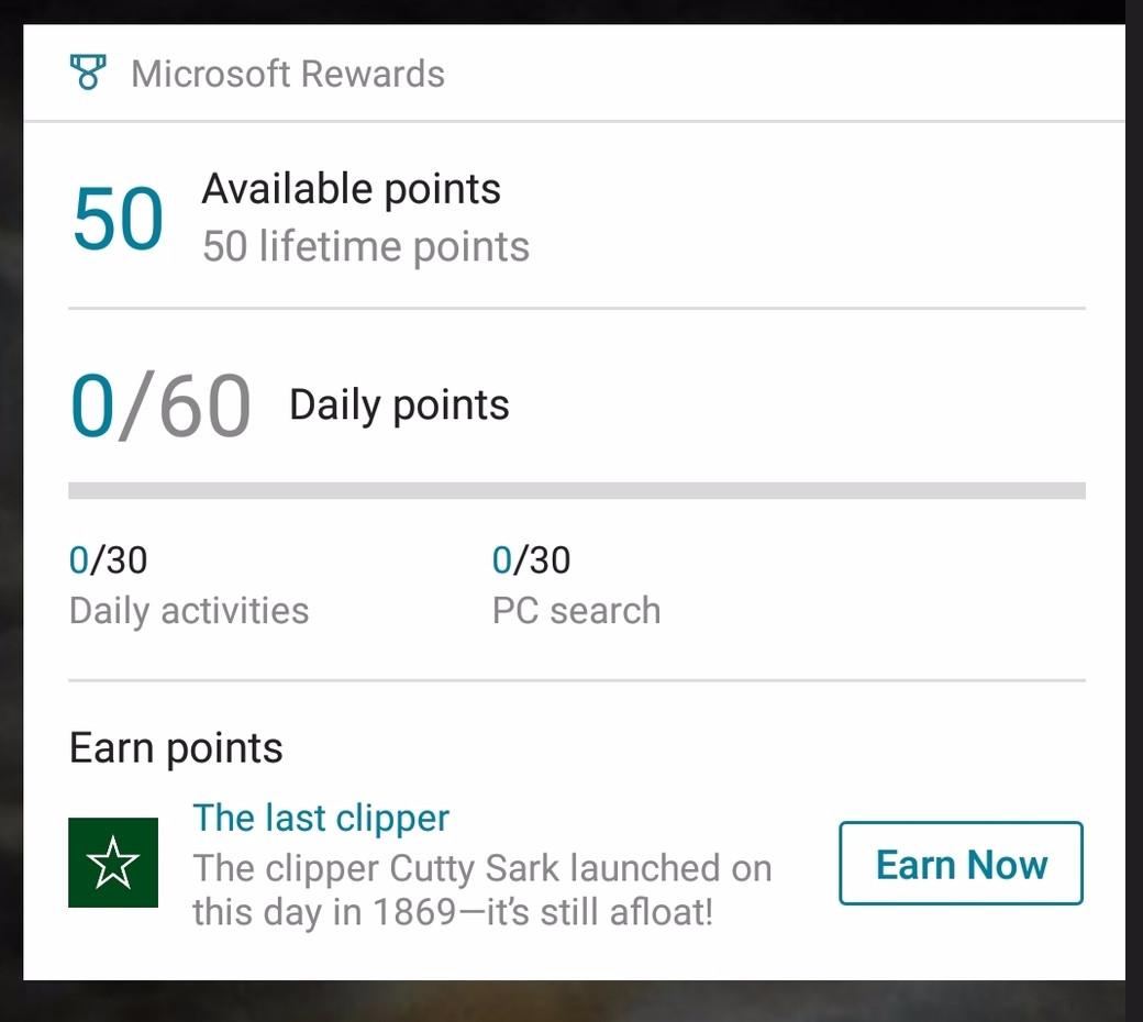 Bing Rewards Germany